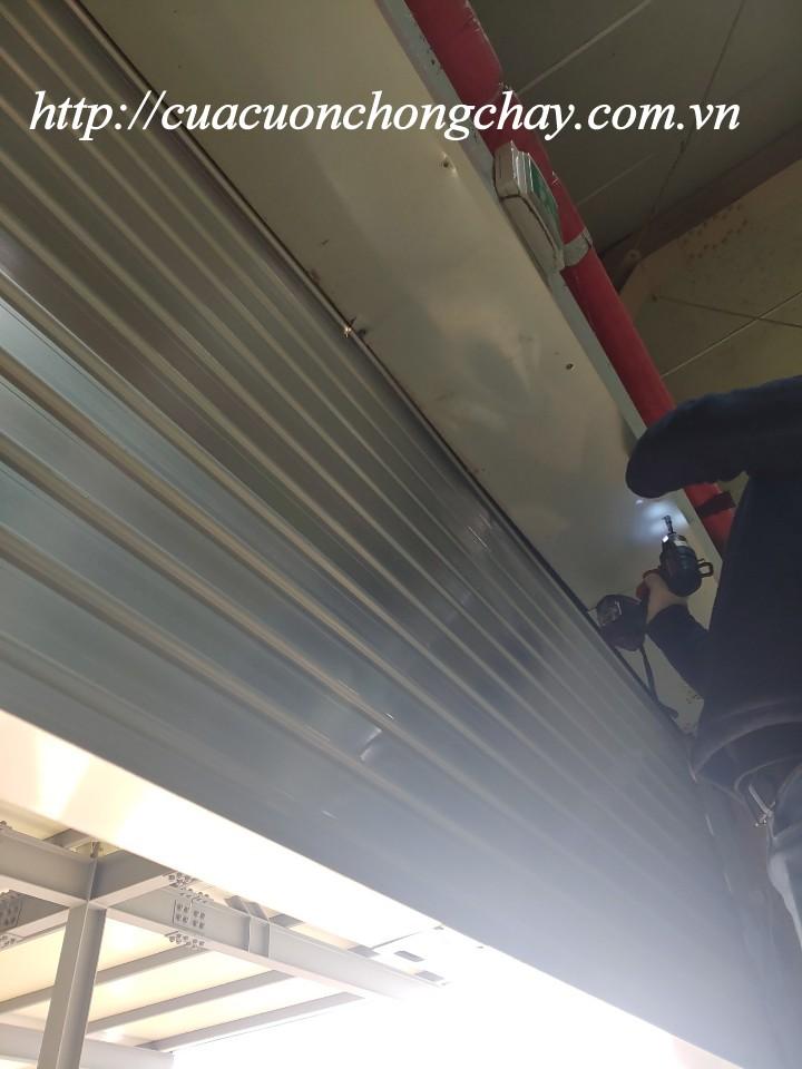 lắp đặt cửa cuốn chống cháy EGI thiết kế
