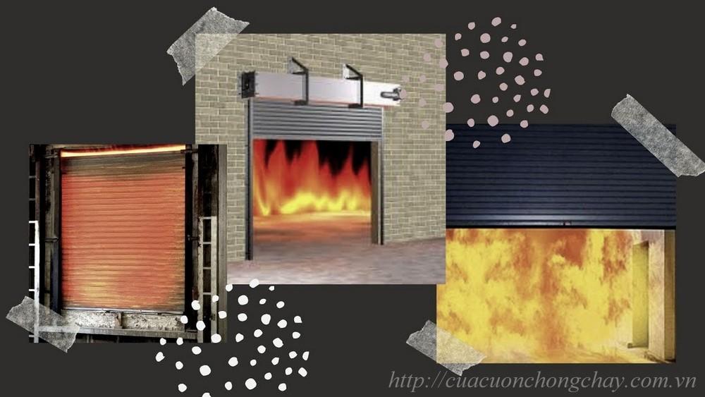 cửa cuốn chống cháy 2 lớp