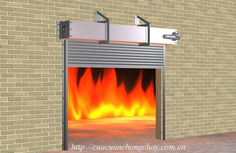 Cửa cuốn chống cháy thép FC100